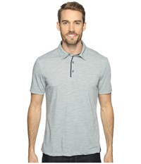 Royal Robbins Merinolux Polo Light Pewter Men's Clothing Silver