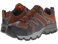 Timberland Rockscape Low Steel Safety Toe Grey Synthetic Orange Pops Men's Lace Up Boots Brown