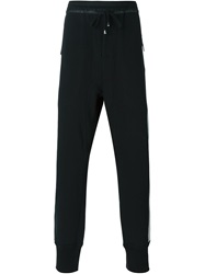 Unconditional Drawstring Track Pants Black