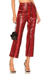 Torn By Ronny Kobo Toba Pant Red