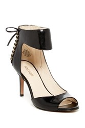Nine West Instruct Ankle Strap Peep Toe Pump Wide Width Available Black