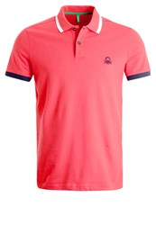 United Colors Of Benetton Polo Shirt Rot Red
