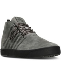 K Swiss Men's D R Cinch Utilitarian Casual Sneakers From Finish Line Charcoal Black