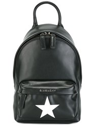 Givenchy Star Print Nano Backpack Black