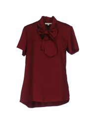 Gigue Blouses Maroon