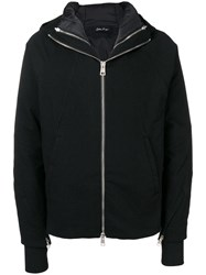 Andrea Ya'aqov Hooded Down Jacket Black