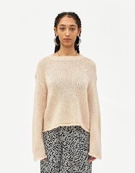 Farrow Odette Chunky Sweater In Natural Size Small