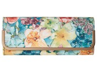 Jessica Mcclintock Addison Soft Floral Flap Clutch Floral Clutch Handbags Multi