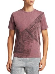 Madison Supply Tawny Port Cotton Tee