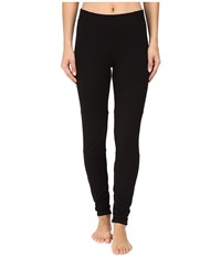Midnight By Carole Hochman Lounge French Terry Leggings Black Women's Pajama