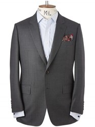 Chester Barrie Charcoal Birdseye Clifford 2 Piece Suit