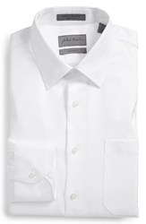 Men's Big And Tall John W. Nordstrom Classic Fit Herringbone Dress Shirt White