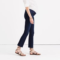 Madewell Maternity Cali Demi Boot Jeans In Hayes Wash