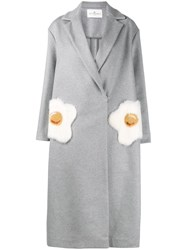 Anya Hindmarch Egg Pocket Coat