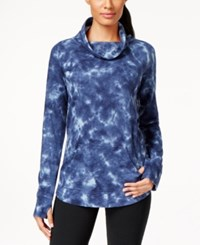 Styleandco. Style And Co. Sport Funnel Neck Tie Dye Sweatshirt Top Only At Macy's