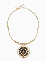 Kate Spade Out Of Her Shell Statement Collar Tortoise Multi