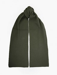 Saturdays Surf Nyc Green Bobble Knit Scarf