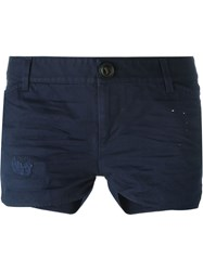 Dsquared2 Distressed Shorts Blue