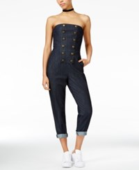 Rachel Roy Strapless Jumpsuit Only At Macy's Rinse Wash