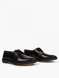 Adieu Black Leather Wtype 1 Derby Shoes