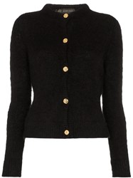 Versace Knitted Cardigan 101 101 Black