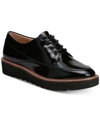 Naturalizer Auburn Platform Oxfords Black