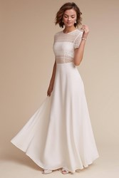 Anthropologie Benson Wedding Guest Dress White