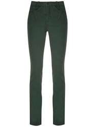 Mara Mac Skinny Trousers Green