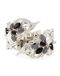 Stephen Webster Sterling Silver Multi Stone Cuff