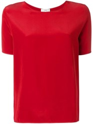 Forte Forte Classic T Shirt Red