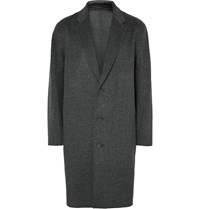 Acne Studios Charles Oversized Wool And Cashmere Blend Overcoat Charcoal
