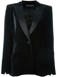Jean Louis Scherrer Vintage Velvet Evening Jacket Black