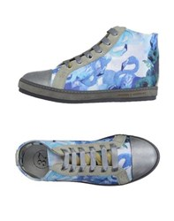 Soisire Soiebleu Footwear High Tops And Trainers Women Pastel Blue