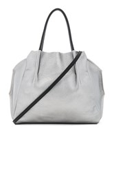 Oliveve Zoe Tote Bag Metallic Silver