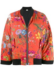 Gucci Floral Print Bomber Jacket 60