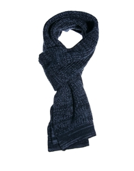 Selected Ground Scarf Blue