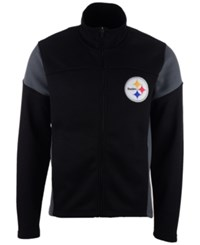 G3 Sports Men's Pittsburgh Steelers Draw Play Jacket Black