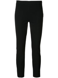 Vince Straight Cropped Leggings Blue
