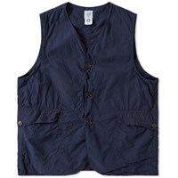 Post Overalls Royal Vest Blue