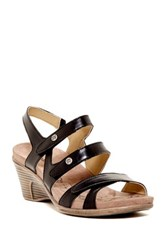 Romika Bali N 07 Leather Sandal Black