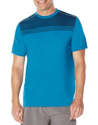 Callaway Chest Print T Shirt Mykonos