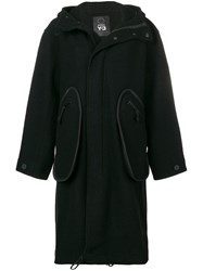 Y 3 Oversized Hooded Coat Unavailable