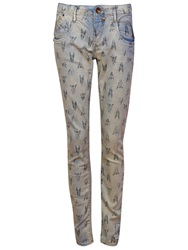 Garcia Denim Trousers Blue