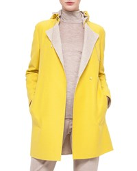 Akris Bicolor Double Faced Reversible Coat Women's