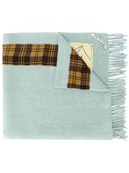Acne Studios Patch Details Canada Scarf Green
