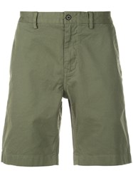 Alex Mill Classic Chino Shorts Green