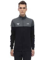 Under Armour Project Rock Techno Track Jacket Black