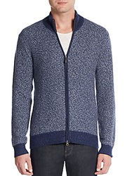 Saks Fifth Avenue Two Tone Cashmere Sweater Selvage
