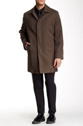 Hart Schaffner Marx Hewes Waterproof Raincoat Brown