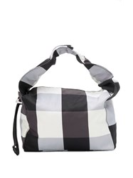 Kara Baby Cloud Gingham Bag Black